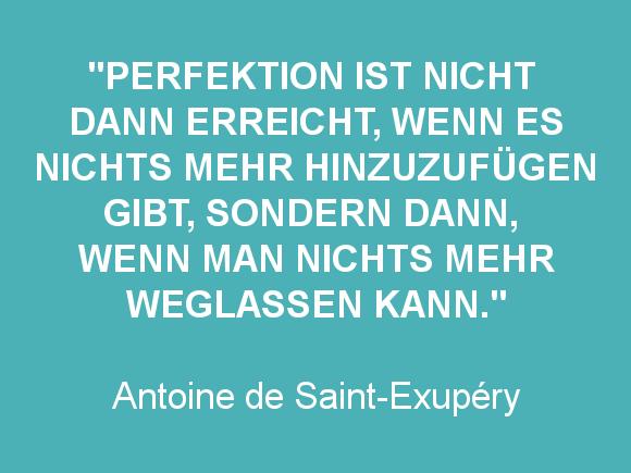 Zitat Antoine de Saint-Exupéry