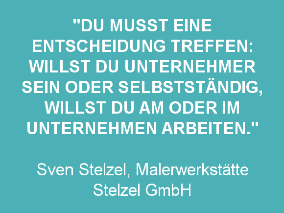 Zitat Sven Stelzel