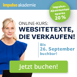 impulse websitetexte