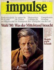 1980: Gründung von impulse
